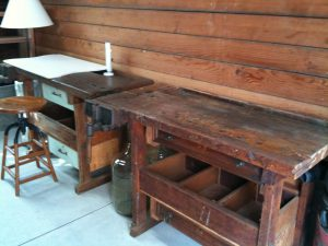 Antique Workbenches