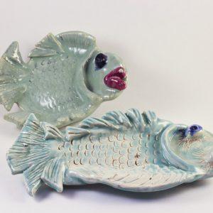Fish Bowl #1/Fish Dish #4 - SOLD