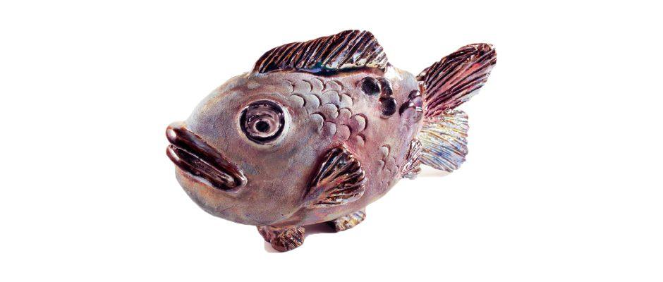 Raku Fish Side