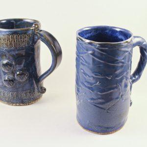 Textured Slab Mugs