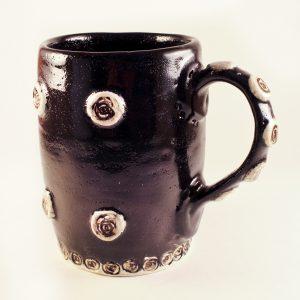 Spiral Mug, Black - SOLD